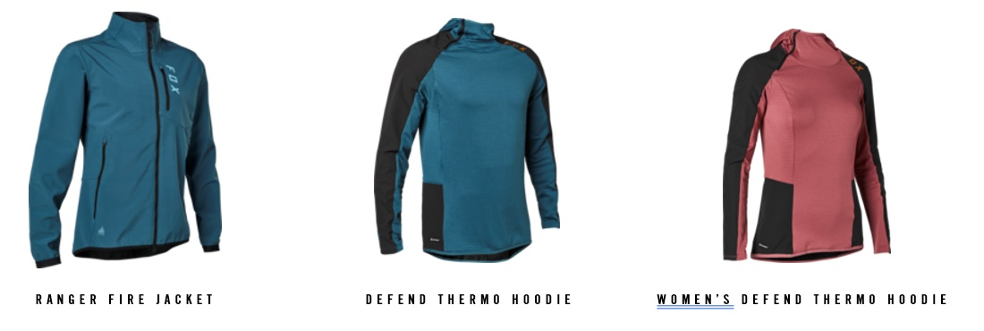 FOX Fire Jacket e Defend Thermo Hoodie