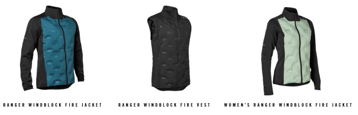 FOX Windblock Fire Jacket e Vest